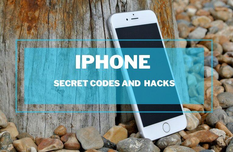 iPhone secret codes and hacks list